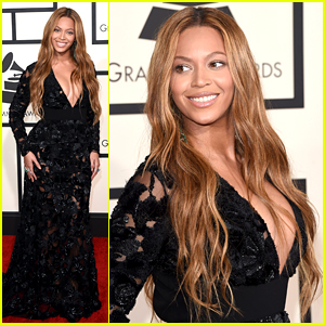 Beyonce Is Already a Big Winner on Grammys 2015 Red Carpet