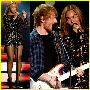 Beyonce Performs with Ed Sheeran at Stevie Wonder Tribute!