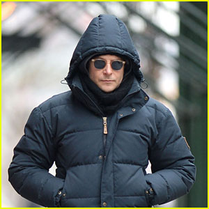 Bradley Cooper Hangs Out in NYC Before the Oscars