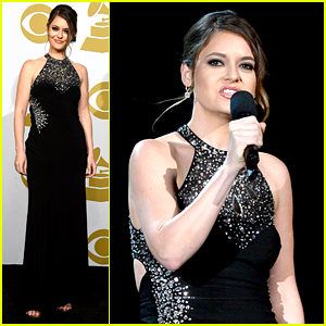 Brooke Axtell, Domestic Abuse Survivor, Gives Inspiring Grammys 2015 Speech (Video)