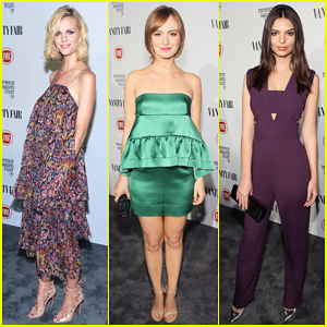 Brooklyn Decker, Ahna O'Reilly, & Emily Ratajkowski Heat Up the 'Vanity Fair' Young Hollywood Party!
