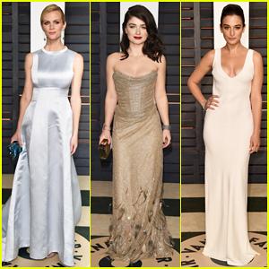 Brooklyn Decker, Eve Hewson, & Jenny Slate Bring Glamour to Vanity Fair's Oscar Party 2015!