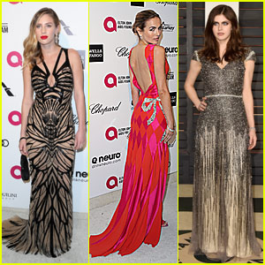 Camilla Belle & Dylan Penn Look Gorgeous At Oscar After Parties