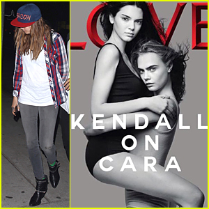 Cara Delevingne Lifts Up Kendall Jenner On New 'Love' Magazine Cover