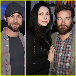Chace Crawford & Laura Prepon Help Launch Casper Showroom
