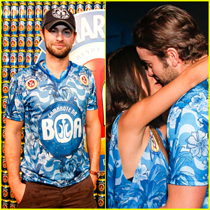 Chace Crawford Makes Out with a Brazilian Singer in Rio