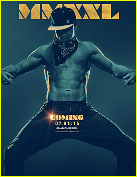 Channing Tatum Shows Off His Six Pack in 'Magic Mike XXL' Poster