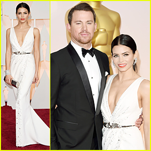 Channing Tatum & Jenna Dewan Look Red Carpet Ready at Oscars 2015