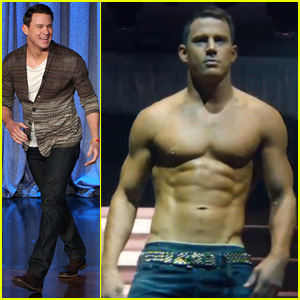 Channing Tatum Premieres Sexy 'Magic Mike XXL' First Look Trailer on 'Ellen' - Watch Now!