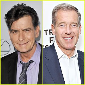Charlie Sheen Praises Brian Williams Amid Controversy, Rips NBC