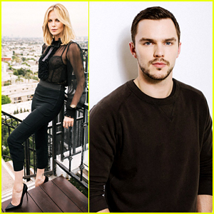 Charlize Theron & Nicholas Hoult Meet the Press for 'Mad Max'