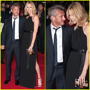 Charlize Theron Gets Doting Look From Sean Penn at 'Gunman' Premiere!