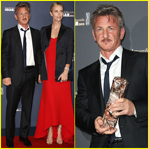 Charlize Theron Supports Sean Penn at Cesar Film Awards in Paris