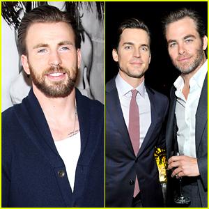 Chris Evans & Chris Pine Look So Hunky at Pre-Oscars Parties!