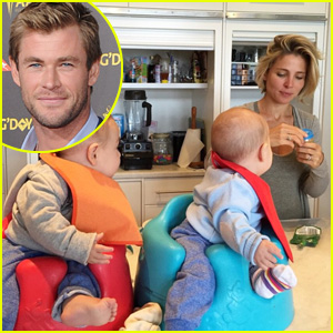Chris Hemsworth's Wife Elsa Pataky Shares Sweetest Photo of Twins Sasha & Tristan!