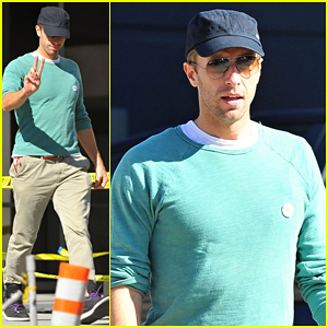 Chris Martin Steps Out After Allegedly Hitting Photographer with His Car