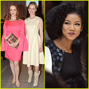 Christina Hendricks & Jhene Aiko Are Surrounded By Honor During New York Fashion Week