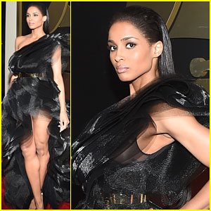 Ciara Stuns on the Grammys 2015 Red Carpet