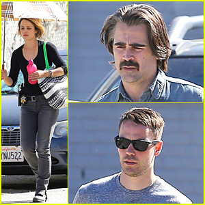 Colin Farrell Wasn't Aware Having a Man-Bun Was a Trend