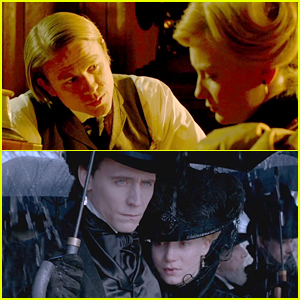 Charlie Hunnam & Tom Hiddleston Woo Mia Wasikowska in 'Crimson Peak' Teaser Trailer