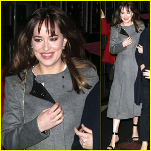 Dakota Johnson Jokingly Asks David Letterman If He's Her Father - Watch Here!