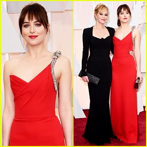 Dakota Johnson Brings Mom Melanie Griffith to Oscars 2015!