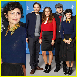 Daniel Bruhl & Audrey Tautou Join Jury Members at Berlin International Film Festival 2015 Photo Call!