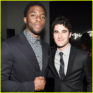 Darren Criss & Chadwick Boseman Are Looking Sharp at Grammys After Party 2015