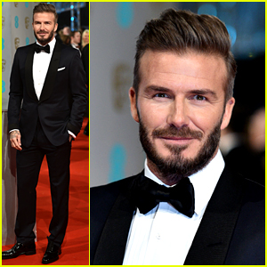 David Beckham Looks So Hot in His Tuxedo at BAFTAs 2015