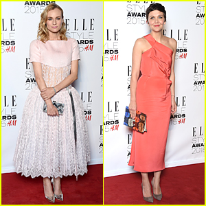 Diane Kruger & Maggie Gyllenhaal Win Best Actress Prizes at Elle Style Awards 2015
