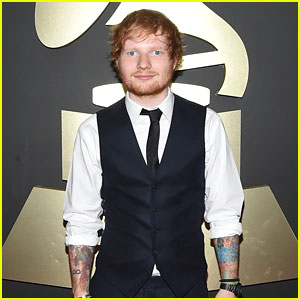 Ed Sheeran Gets Ready to 'Sing' at Grammys 2015