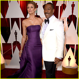 Eddie Murphy & Paige Butcher Make It a Date Night at Oscars 2015