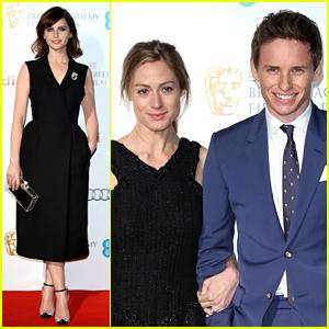 Eddie Redmayne & Felicity Jones Celebrate Their BAFTA Nominations at Pre-Party!