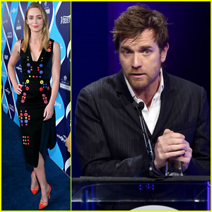Emily Blunt Helps Honor Ewan McGregor's UNICEF Work at unite4:humanity Event