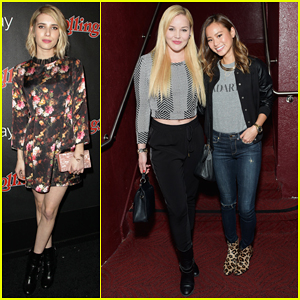 Emma Roberts, Abbie Cornish, & Jamie Chung Celebrate Grammys at Rolling Stone Google Play Party!