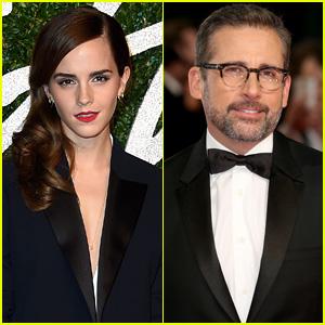 Emma Watson Praises Steve Carell Before Oscars 2015