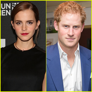 Emma Watson Addresses Prince Harry Dating Rumors