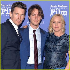Ethan Hawke & Patricia Arquette Accept American Riviera Award