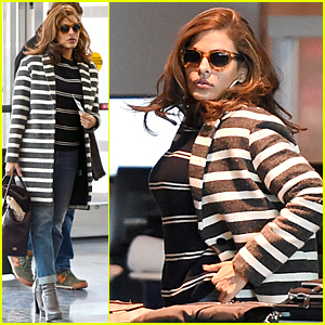 Eva Mendes Gets Ready to Launch Cosmetics Line
