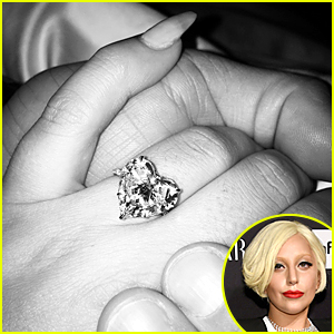 Lady Gaga Confirms Engagement, Shows Off Her Ring!