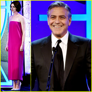 George Clooney Suits Up for Art Directors Guild Awards 2015