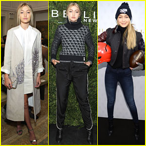 Gigi Hadid Walks the Runway During NYFW With the 'Dream Team'