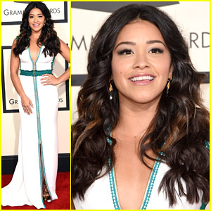 Gina Rodriguez Loved Sam Smith's Acceptance Speech at Grammys 2015