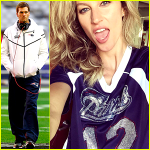 Gisele Bundchen Is Ready for Super Bowl 2015 - See Her Pic!