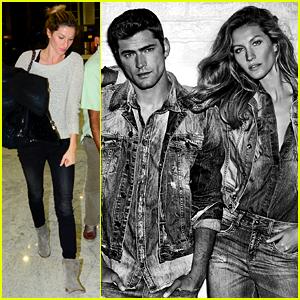 Gisele Bundchen & Sean O'Pry Star in Colcci's New Campaign
