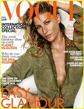 Gisele Bundchen Covers 'Vogue UK,' Says She Always Knew Tom Brady Was 'The One'
