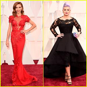 Giuliana Rancic & Kelly Osbourne Go Total Glam at Oscars 2015