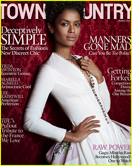 Belle's Gugu Mbatha-Raw Shares Some Inspirational Advice in 'Town & Country'