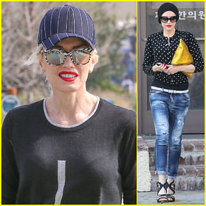 Gwen Stefani Can't Stop Getting Acupuncture Done