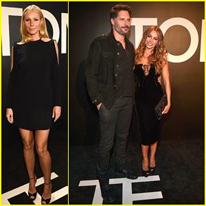 Gwyneth Paltrow & Sofia Vergara Show Off Their Long Legs at Pre-Oscar Party
